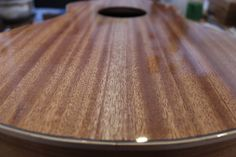 French polish // Weissenborn (2016) with homemade 100% natural grain filler. By Julien Lelievre Lutherie
