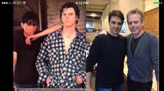 Ponyboy and Johnny Cake Then and Now