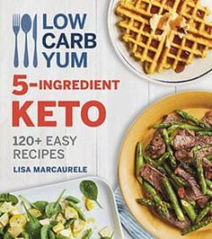 Keeping keto EASY! This Low Carb Yum Keto Cookbook features over 120 simple (and yummy! All are made with 5 main ingredients or less. Plus get tips for being successful on low carb, nutritional data, and meal plans. Beef Recipes, Low Carb Recipes, Cooking Recipes, Easy Recipes, Low Carb Breakfast, Breakfast Recipes, Dinner Recipes, Lunch Recipes, Breakfast Ideas