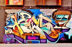 Kaes   - #graffiti #piece - graffiti wall - #burner