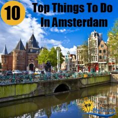 Amsterdam, the Capital city of the Kingdom of Netherlands, juggles its multiple identities with infinite ease. This quintessential European city with its Tourist Spots, Vacation Spots, Countries Around The World, Around The Worlds, Places To Travel, Travel Destinations, Amsterdam Shopping, Amsterdam Things To Do In, Famous Places