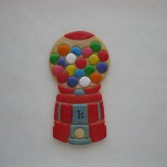 Gumball Machine Sugar Cookie By ~ Jinnee Parr ~