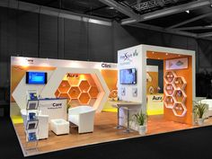 Best Möbius 6 X 6M Modular Exhibition Stand Without The Custom 400 x 300