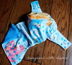 Honeybuns cloth diapers! Vintage Care Bears