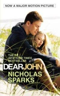 Dear John by Nicholas Sparks. It is in the fiction section of the DHS Library, F SPA.