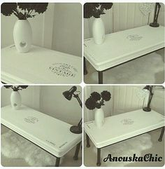 Vintage Coffee Table steampunk industrial shabby urban chic available now at www.anouskachic.co.uk