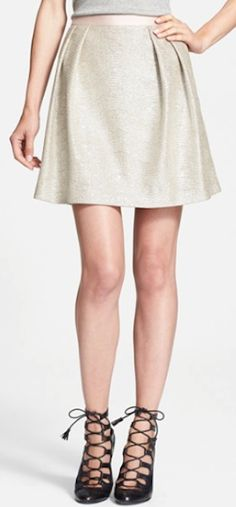 Adorable Tory Burch Skirt http://rstyle.me/n/s43yabh9c7