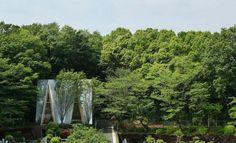 Sayama Lakeside Cemetery by Hiroshi Nakamura & NAP