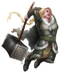 Hammer Warrior by ALRadeck http://alradeck.deviantart.com/art/Hammer-Warrior-468419325