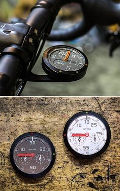 OMATA One Analog GPS Speedometer - Behold the world's first analog GPS speedometer: OMATA One. Like all cycling computers, it tracks speed, distance, ascent and time and stores your data on internal memory. The difference is the precision analog display, developed in partnership with Seiko.