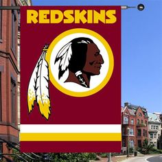 Washington Redskins outdoor flag