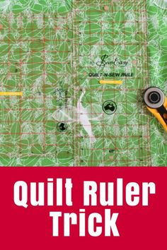 Quilting Tip Using