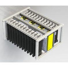 SJ Miner - 20pcs Radeon RX-480 per frame - 500Mh/s Ethereum Miner