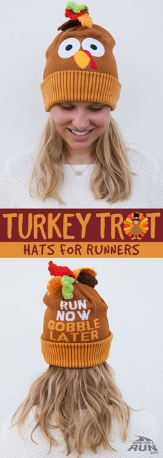 i love this goofy turkey hat perfect for when i run my turkey trot every