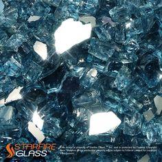 "AmazonSmile: Starfire Glass® 10-Pound ""Fire Glass"" 1/2-Inch Starfire: Patio, Lawn & Garden"
