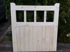 Wooden Cottage Style Timber Garden Gate
