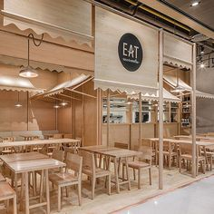 #Onion crafts all wood eatery in #Bangkok #EAT #design #thewoodworks