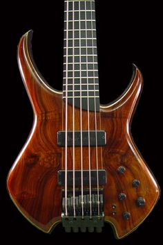 Love that it's a five string and has a sexy shape. Original 5 string by Sei Bass
