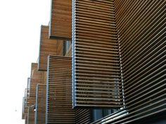 Automatyczna stolarka aluminiowa - ruchome fasady, okna przesuwne, automatyka okienna, systemy okuć do drzwi przesuwnych, systemy okuć do okiennic przesuwnychOkiennice harmonijkowe
