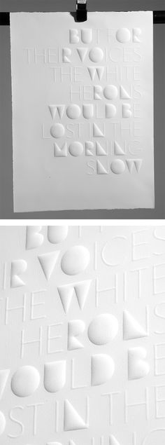 Haiku: Typographic Experiments by Eli Kleppe