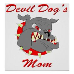 Let everyone know that you are the proud mother of a United States Marine with this Devil Dog's Mom design. It is available on a wide selection of products and makes a great gift idea.