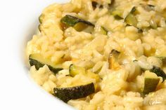 A great one pot meal that is quick to make using arborio or risotto rice, courgettes and frozen peas. Vegetarian Meals For Kids, Healthy Toddler Meals, Vegetarian Recipes, Toddler Food, Family Meals, Kids Meals, Squash Vegetable, Risotto Recipes, Cheap Dinners