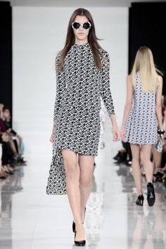 #3/4_sleeved_shift:  Ralph Lauren Ready To Wear Spring Summer 2014 New York