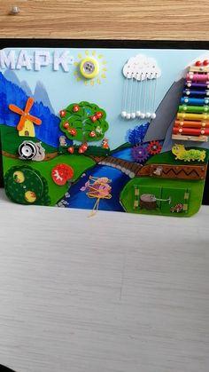 Baby Activity Board, Baby Sensory Board, Baby Sensory Play, Sensory Wall, Sensory Activities Toddlers, Montessori Activities, Infant Activities, Toddler Activity Board Motor Skills, Sensory Kids