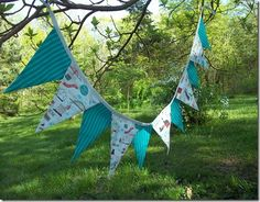 Creative Passage: Sewing a layered fabric banner