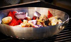 Barbecued Vegetables