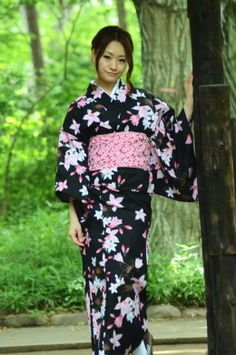 YUKATA KIMONO MARKET SAKURA / Yukata details