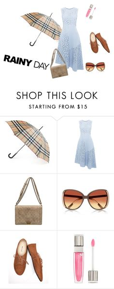 """Look do Dia 01/11"" by minhadoceaurora on Polyvore featuring moda, Burberry, Whistles, Chanel, Wet Seal e Lancôme"