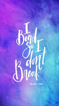 I Bend So I Don't Break | Pura Vida Digi-Downloads