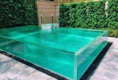 Acrylic Aquarium, Outdoor Greenhouse, Pool Remodel, Glass Pool, Acrylic Sheets, Swimming Pools, Outdoor Living, Infinity, Fishing