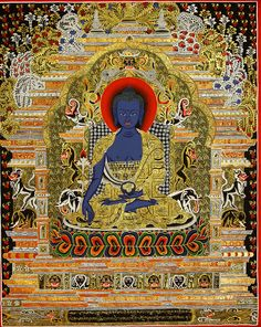 Bhaiṣajyaguru (Medicine-Buddha)