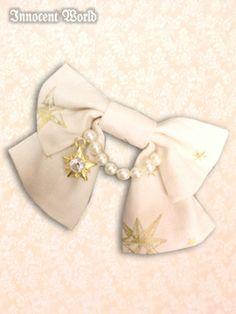 Glitter Seraphim ribbon clip