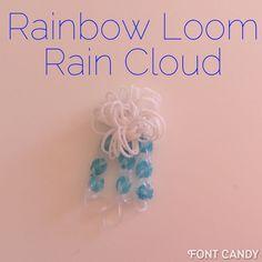 Rainbow Loom Rain Cloud Tutorial