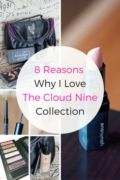 8 reasons why I love the Younique Cloud Nine Collection. I am NOT a presenter, I just love the product. This collection provides it all.