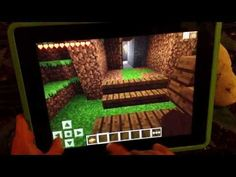 How to create a Basic House in Minecraft Pocket Edition for iPad.
