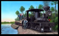 Mississippi Rails Tony Howe Art