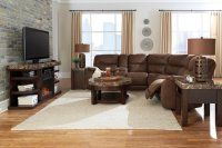LR17 Brown Bomber Three Piece Sectional