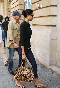 Emma Heming Willis - Bruce Willis and Emma Heming Shop in Paris