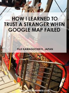 """""""Don't talk to stranger"""" old saying is not always right when it comes to travelling. It's great when you don't act like a tourist to avoid scam. But what if technology fails and a local (read: stranger) is the only one who can save you? Read my story!"""