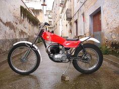 montesa cota 247!   Cousin Paul's best and last Trials bike .