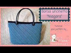 "Borsa a uncinetto ""Niagara""   Tutorial and pattern by Vane Handmade - YouTube"