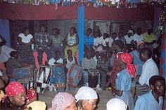 """This encyclopedia entry discusses vodou, which is an official religion of Haiti. The main focus of vodou is spirits. It is often practiced with Catholicism, as """"the God of the Christian Bible is understood to be the creator of both the universe and the spirits""""."""