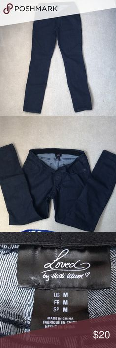 NWOT Maternity Blue Jeans LOVED by Heidi Klum NWOT maternity blue jeans. Size M. Never worn! LOVED By Heidi Klum heidi klum Jeans