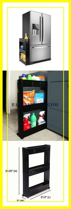 Kitchen Cabinet Organizers (Corner and Pull Out Organizer Ideas) - Modern Cabinet Organizers, Door Organizer, Kitchen Cabinet Organization, Storage Cabinets, Best Kitchen Cabinets, Kitchen Drawers, Base Cabinets, Kitchen Cabinet Accessories, Small Space Kitchen