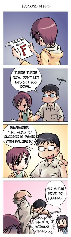 Haha, no idea if this is for an actual anime, but this is quite funny.