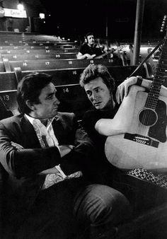 Johnny Cash and Gordon Lightfoot, 1969